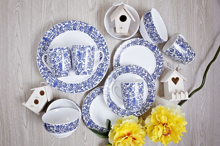 Blue Bird Tableware 2