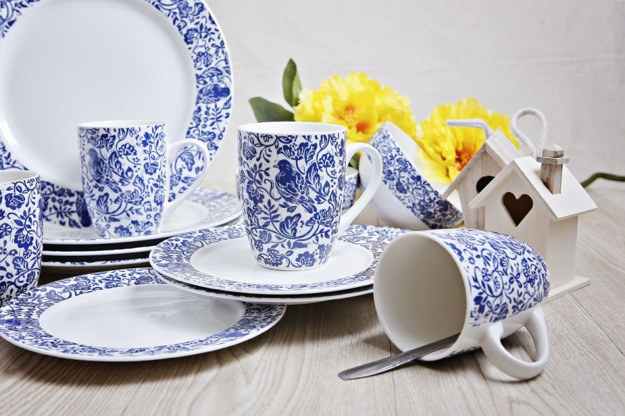 Blue Bird Tableware 4