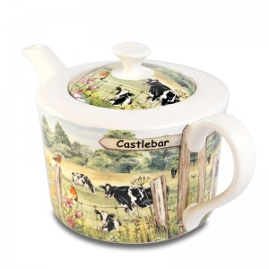 4 cup teapot COW
