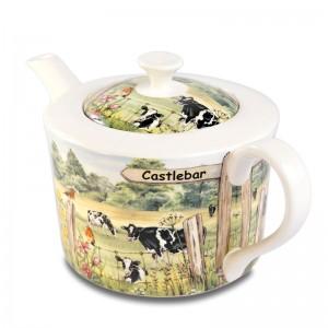 4 cup teapot COW