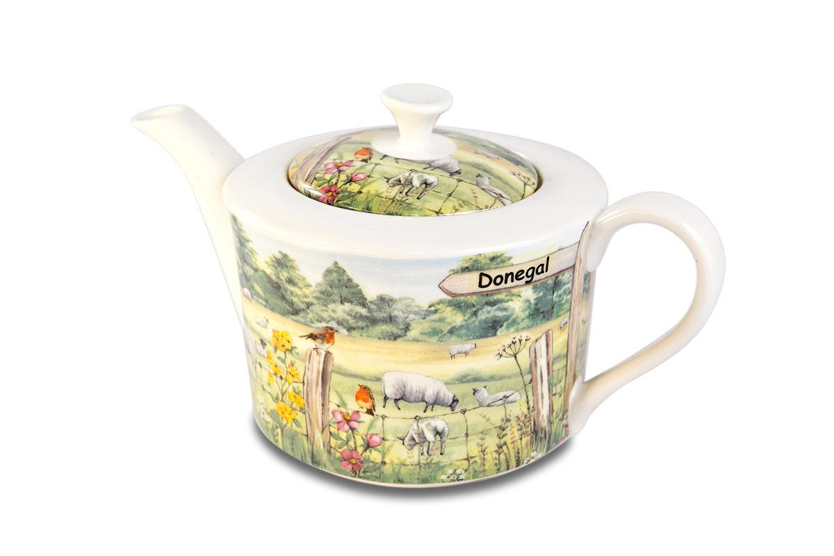 4 Cup Teapot Sheep