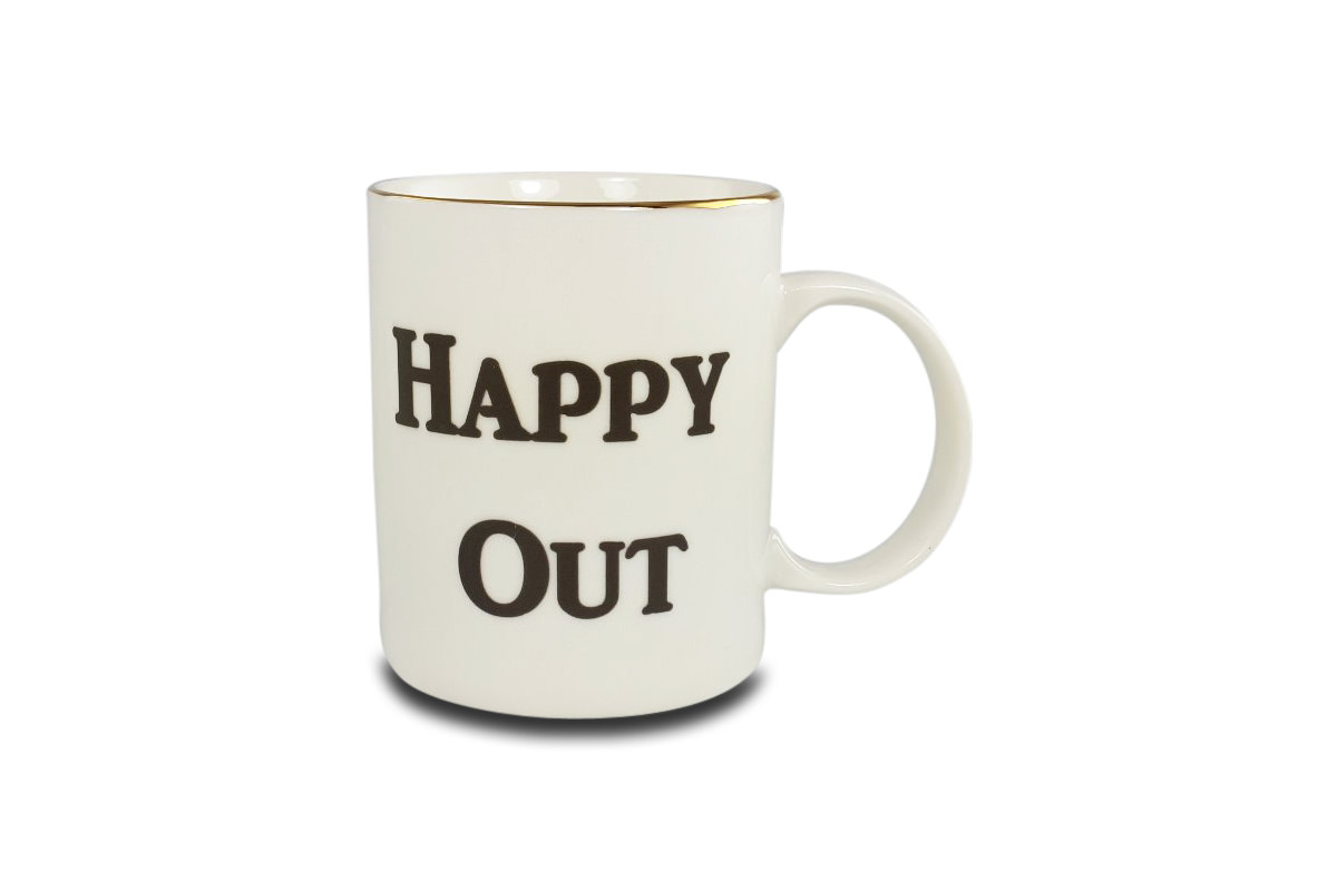 Happy Out Mug